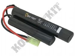 Big Foot Airsoft 8.4V Nimh 1600mAH Nunchuck Crane Stock Battery Pack Small Tamiya